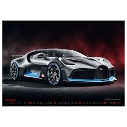 Nástěnný kalendář 2021 - Cars