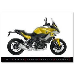 Nástěnný kalendář 2021 - Motorbikes