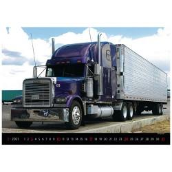 Nástěnný kalendář 2021 - Trucks