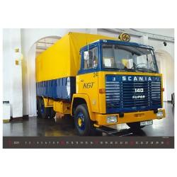 Nástěnný kalendář 2021 - Old Trucks