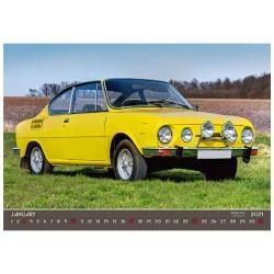 Nástěnný kalendář 2021 - Retro Cars