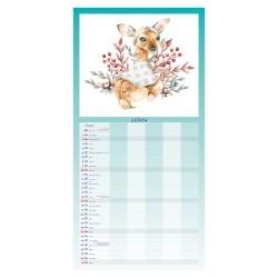 Nástěnný kalendář 2021 - Rodinný plánovač