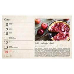 Stolní kalendář 2021 - Babiččiny recepty