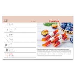 Stolní kalendář 2021 - Domácí kuchařka