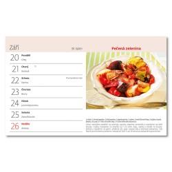 Stolní kalendář 2021 - Zdravě jíst, zdravě žít