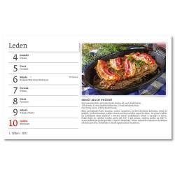 Stolní kalendář 2021 - Hrníčková kuchařka