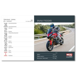 Stolní kalendář 2021 - Motorky ČR/SR