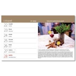 Stolní kalendář 2021 - Vychytávky Ládi Hrušky