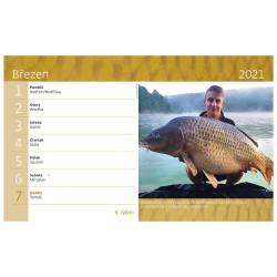 Stolní kalendář 2021 - Rybář