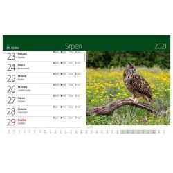 Stolní kalendář 2021 - Myslivecký kalendář