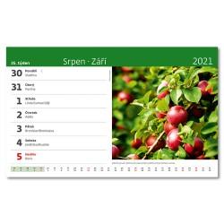 Stolní kalendář 2021 - Naše příroda