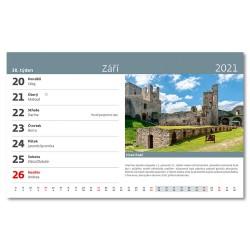 Stolní kalendář 2021 - Technické památky ČR
