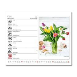 Stolní kalendář 2021 - MiniMax Květiny/Kvetiny