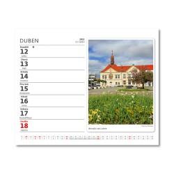 Stolní kalendář 2021 - MiniMax Naše města
