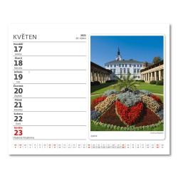 Stolní kalendář 2021 - MiniMax Naše hrady a zámky