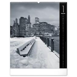 Nástěnný kalendář 2021 New York