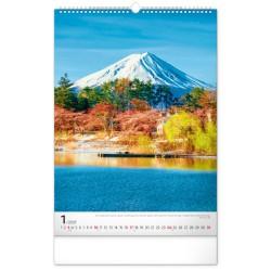 Nástěnný kalendář 2021 Hory