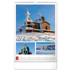 Nástěnný kalendář 2021 Má vlast
