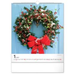 Nástěnný kalendář 2021 Sweet Home
