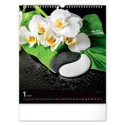 Nástěnný kalendář 2021 Zen