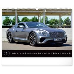 Nástěnný kalendář 2021 Auta