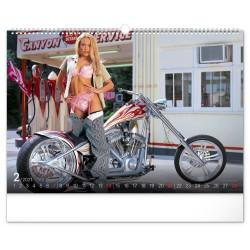 Nástěnný kalendář 2021 Girls & Bikes – Jim Gianatsis
