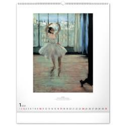 Nástěnný kalendář 2021 Impresionismus