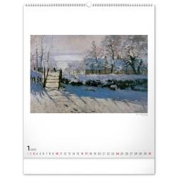 Nástěnný kalendář 2021 Claude Monet