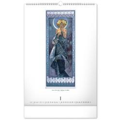 Nástěnný kalendář 2021 Alfons Mucha