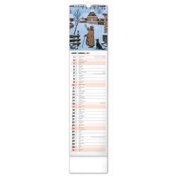 Nástěnný kalendář 2021 Josef Lada – Na vsi