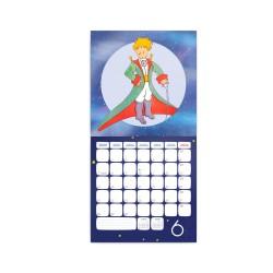 Nástěnný poznámkový kalendář 2021 Malý princ