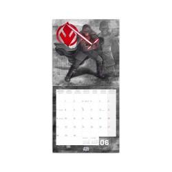 Nástěnný poznámkový kalendář 2021 Star Wars