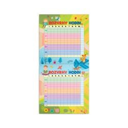 Nástěnný rodinný plánovací kalendář 2021