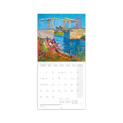 Nástěnný poznámkový kalendář 2021 Vincent van Gogh