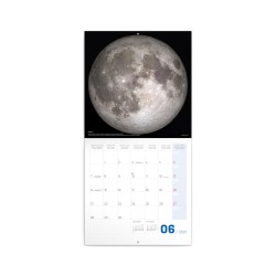 Nástěnný poznámkový kalendář 2021 NASA