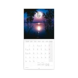 Nástěnný poznámkový kalendář 2021 Měsíc