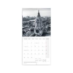 Nástěnný poznámkový kalendář 2021 Londýn