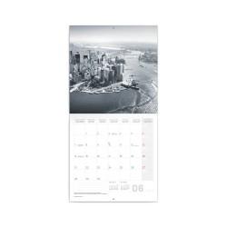 Nástěnný poznámkový kalendář 2021 New York