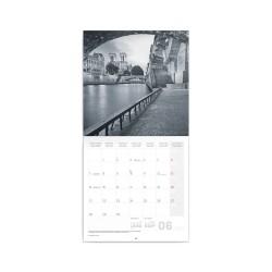 Nástěnný poznámkový kalendář 2021 Paříž