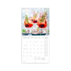 Nástěnný poznámkový kalendář 2021 Gin & Tonik