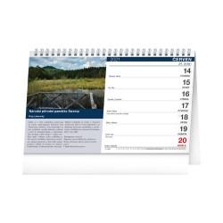 Stolní kalendář 2021 Tipy na výlety