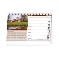 Stolní kalendář 2021 Hrady a zámky