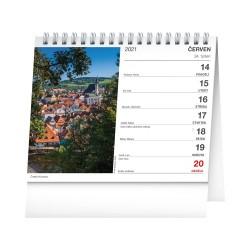 Stolní kalendář 2021 Nejkrásnější místa Čech a Moravy