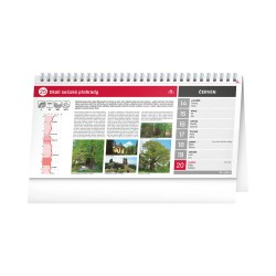 Stolní kalendář 2021 Tipy na cyklovýlety