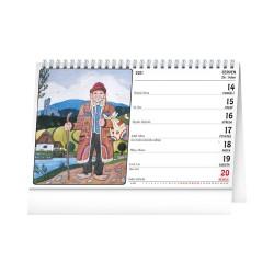 Stolní kalendář 2021 Josef Lada – Na vsi