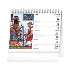 Stolní kalendář 2021 Josef Lada – Na poli