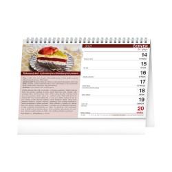 Stolní kalendář 2021 Sladké recepty