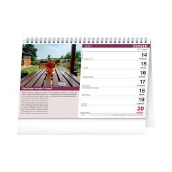 Stolní kalendář 2021 Putování za vínem