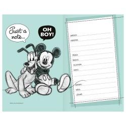 Školní diář 2021 týdenní kapesní - Disney Mickey a Minnie