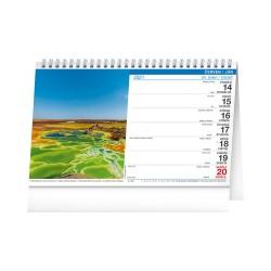 Stolní kalendář 2021 Voda CZ/SK